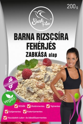 Szafi Free Brown Rice Germ Protein Porridge with dried fruits 200g