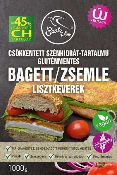 Szafi Free Low-carb, Glutenfree, Vegan Baguette and Roll Flour mix 1kg