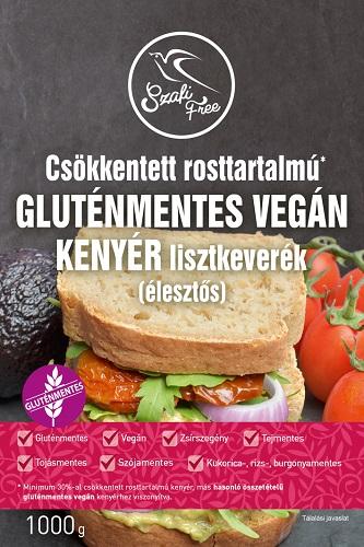 Szafi Free Low-fiber bread flourmix with yeast (vegan) 1kg