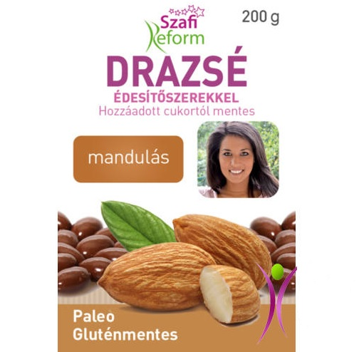Szafi Reform Chocolate coated Almond dragee 200g