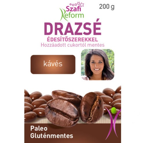 Szafi Reform Chocolate coated Coffee bean dragee 200g