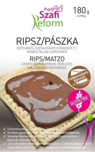 Szafi Reform Low-CH Rips, Matzo (glutenfree) 180gr