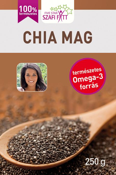 Szafi Reform Chia seeds, black 250 g