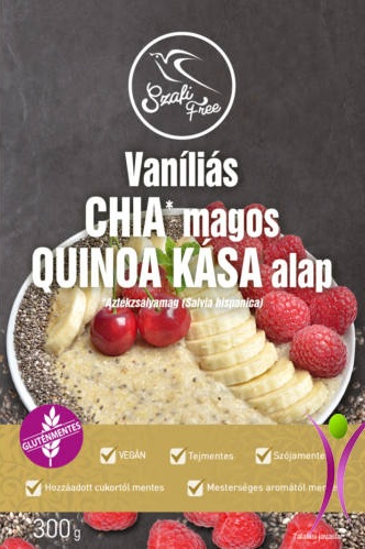 Szafi Free Vanilla-Chia seeds-Quinoa Porridge 300gr