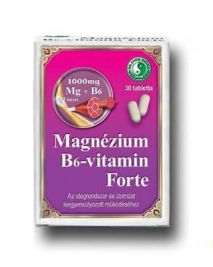 Dr. Chen Magnesium and Vitamin B6 Forte, 30 tablets