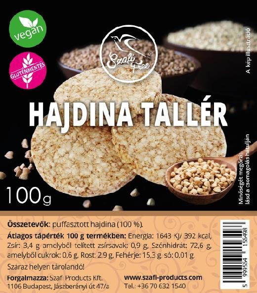 Szafi Free Buckwheat Cracker 100g
