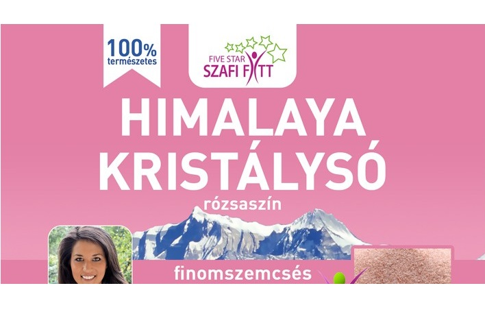 Himalayan pink salt, fine-grained 1 kg