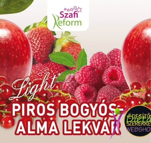 Szafi Reform Jam, Red Berries with Apple 350gr