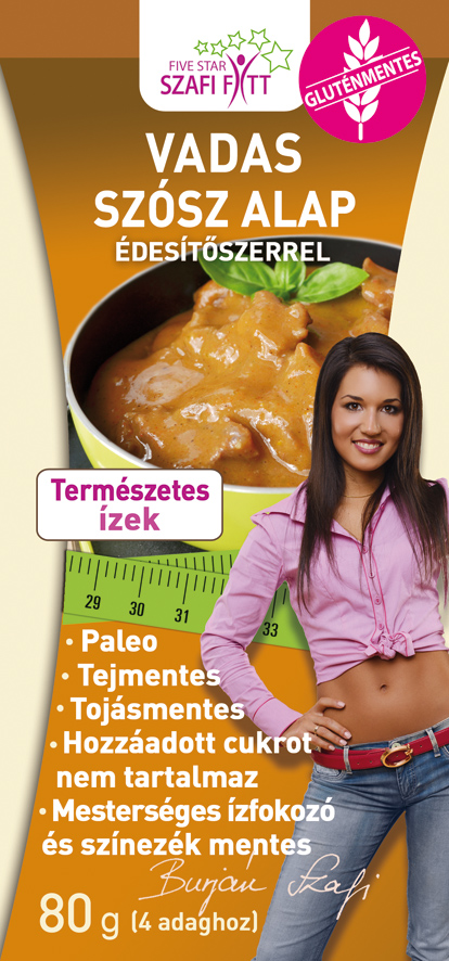 Szafi Reform 'Hunter' style sauce (glutenfree) 80g