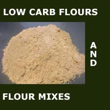 Low carb flours and flour mixes