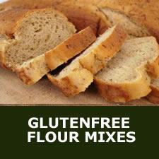 Glutenfree flour mixes
