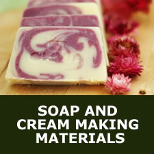 Soap and cream making materials