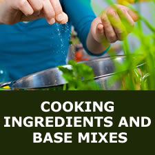 Cooking ingredients and base mixes