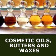 Cosmetic oils, butters and waxes