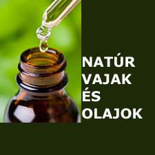 Natúr vajak és olajok