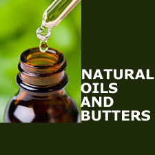 Natural oils and butters