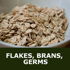 Flakes, brans, germs