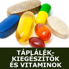 Táplálékkiegészítők és vitaminok
