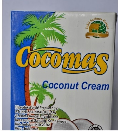 Cocomas Coconut Cream 200 ml