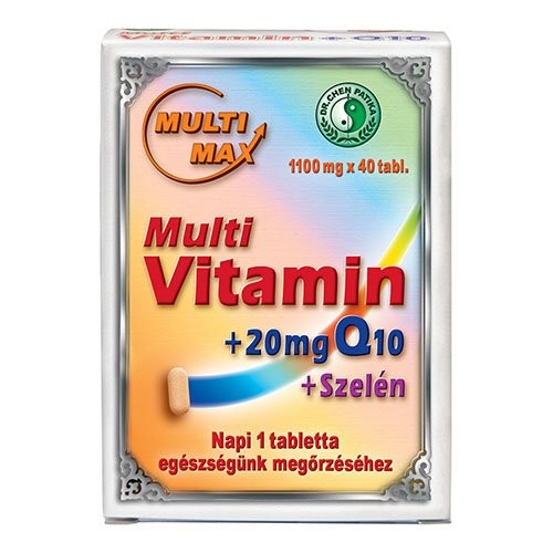 Dr. Chen Multi Max Multivitamin plus Q10 and selenium