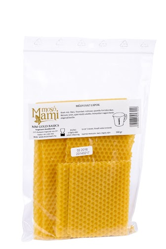 MM Beeswax sheets 100 gr