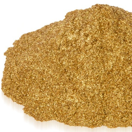 Natural Mica Pigment Powder, Gold 10 gr