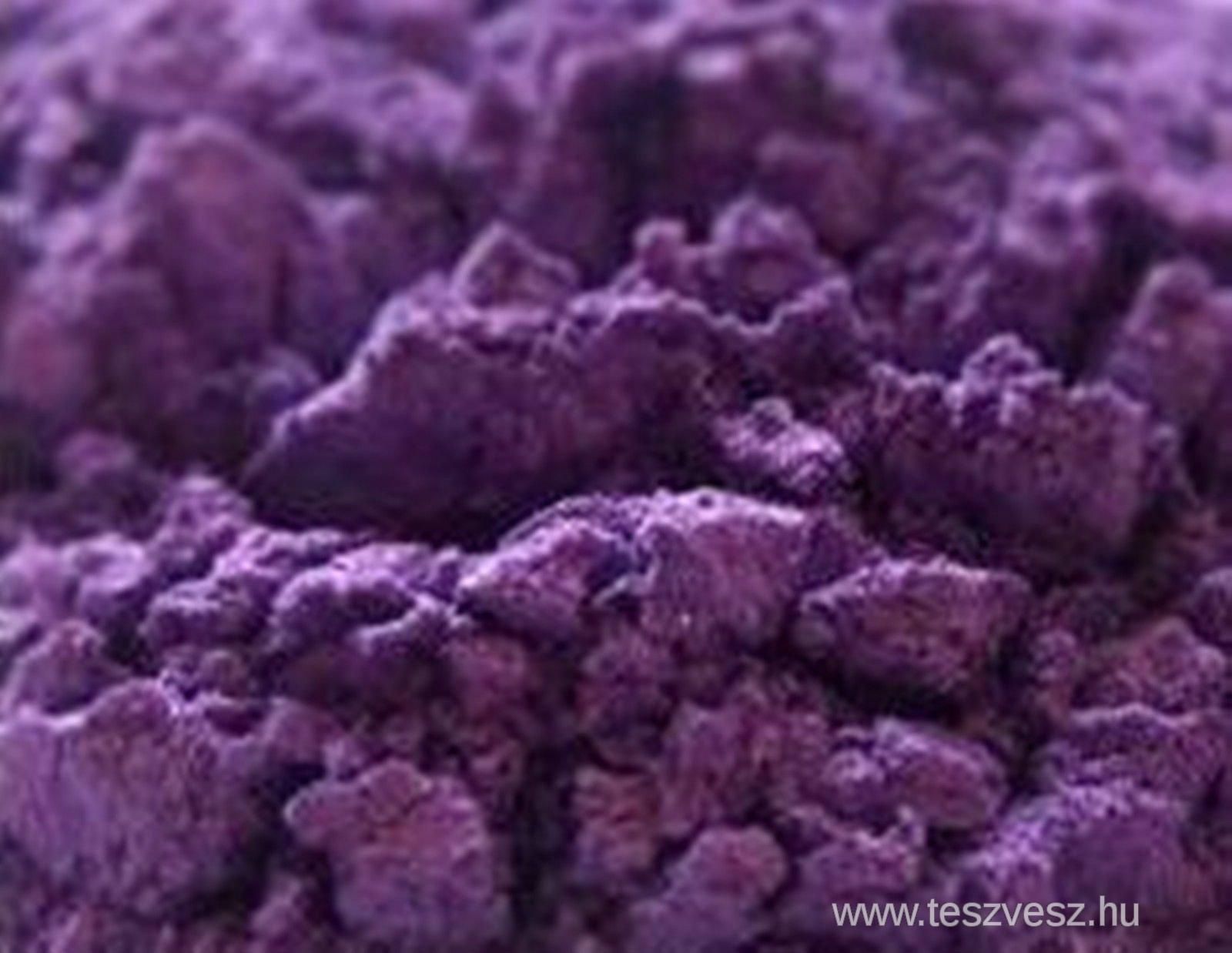 Natural Mica Pigment Powder, Dark Purple 10 gr