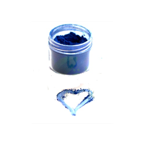 Natural Mica Pigment Powder, Navy 10 gr