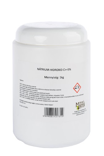 Sodium hydroxide, caustic soda (lye) 1 kg