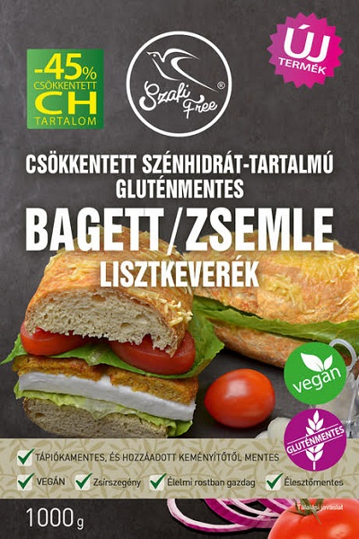 Szafi Free Low-carb, Glutenfree, Vegan Baguette Flour mix 1kg