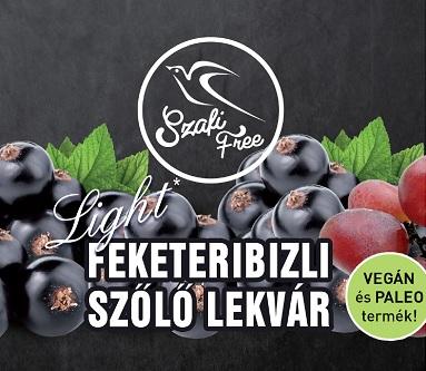 Szafi Free Jam, Blackberries-grapes 350gr