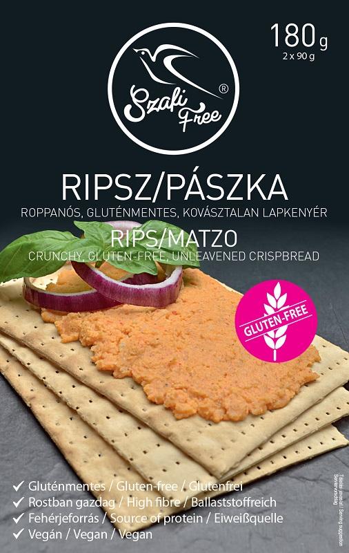 Szafi Free Rips, Matzo (glutenfree) 180gr