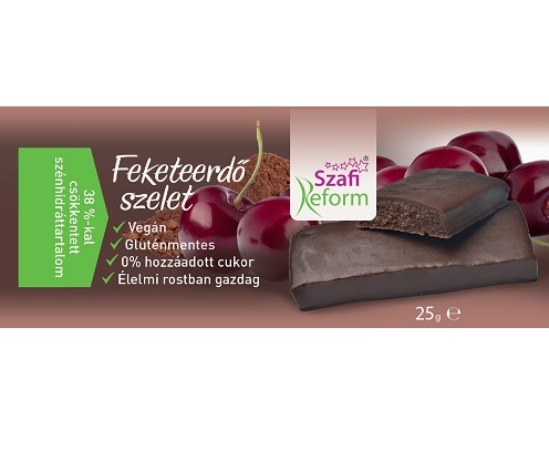Szafi Reform Low Carb, GF, Vegan Chocolate bar, Black Forest