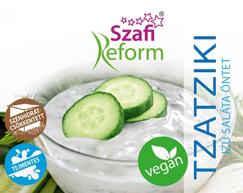 Szafi Reform Tzatziki sauce, low carb, vegan 270gr