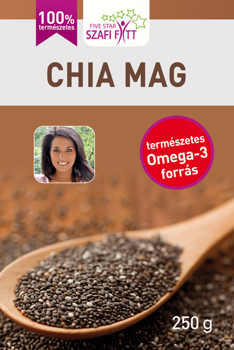Szafi Reform Chia seeds, black 250 g