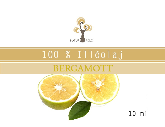 Bergamot Essential Oil, 10 ml