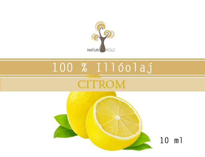 Lemon Essential Oil, 10 ml