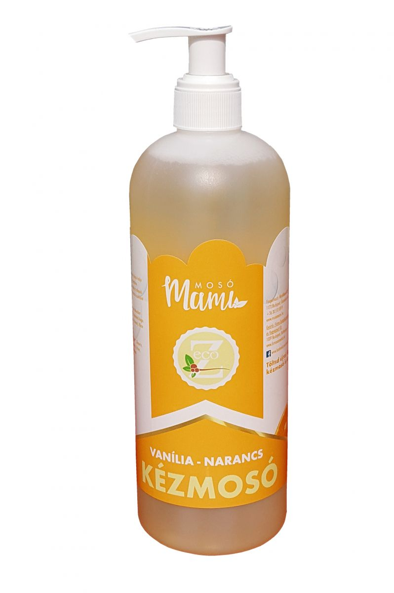 Eco-Z Liquid handwash Orange-vanilla, 500 ml