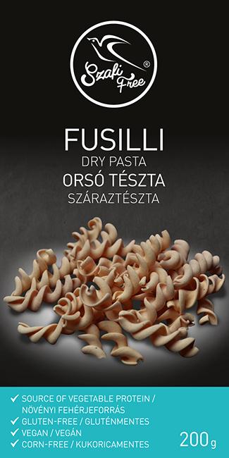 Szafi Free Vegan Fusilli dry pasta 200g