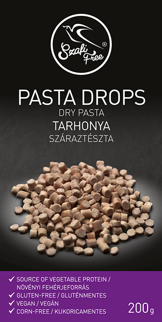 Szafi Free Vegan Pasta Drops dry pasta 200g