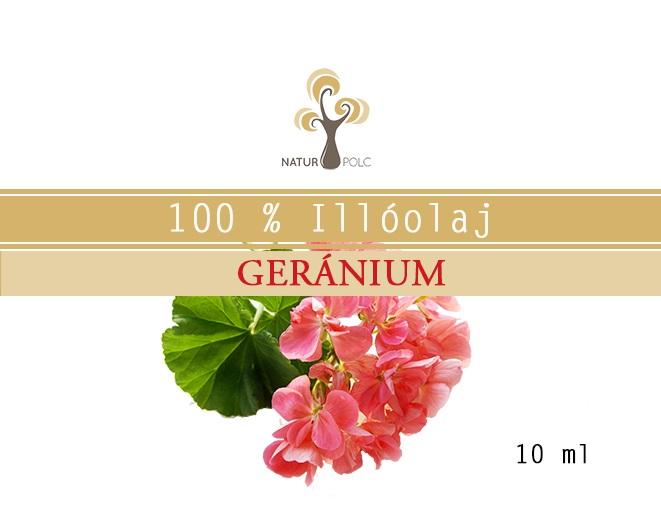 Geranium Essential Oil, 10 ml