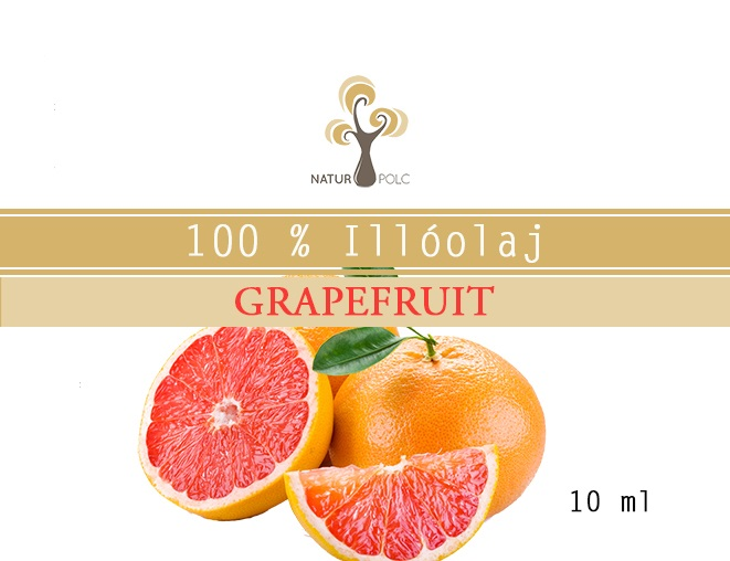 Grapefruit Essential Oil, 10 ml