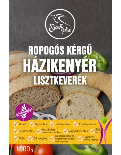 Szafi Free Crispy Homemade Bread Mix with Buckwheat 1kg