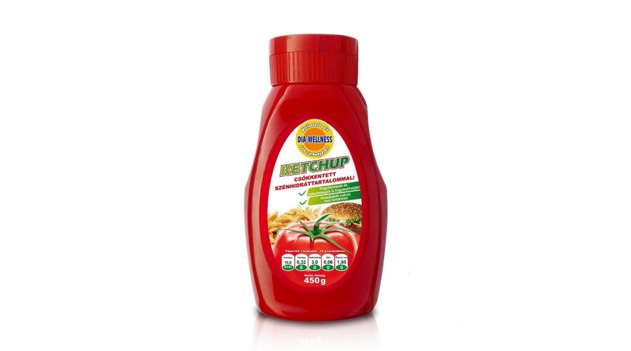Dia-Wellness Ketchup, 450g