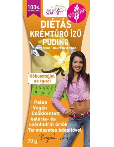 Szafi Reform Orange-Vanilla Pudding 70g