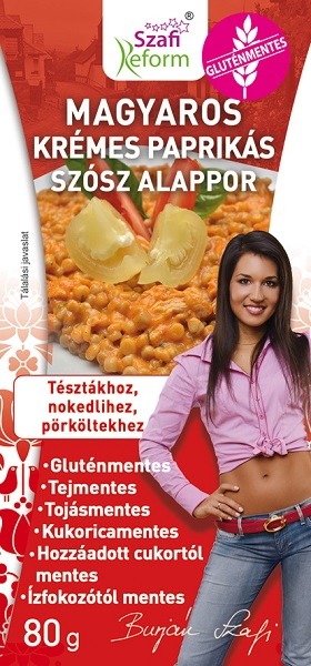 Szafi Reform Creamy Paprika Sauce 80g