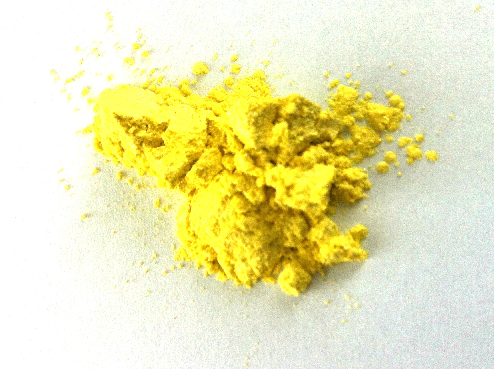 Natural Mica Pigment Powder, Lemon 10 gr