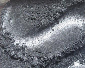 Natural Mica Pigment Powder, Graphite Gray 10 gr