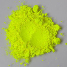 Natural Mica Pigment Powder, Neon Yellow 10 gr