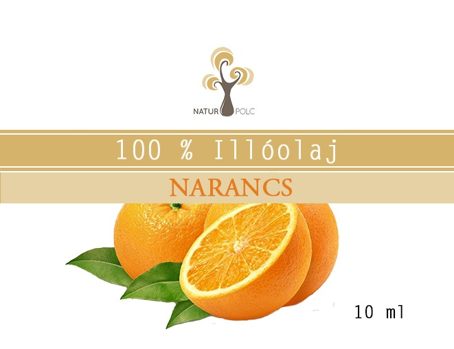 Sweet Orange Essential Oil, 10 ml